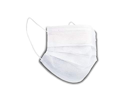 Mundschutz Premium Soft 2 lagig (50 Stück) Atemschutz Filtermaske OP Maske Einweg