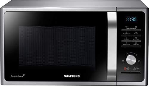 Samsung MS28F303TAS/EG Mikrowelle / 1000 W / 28 L Garraum (Extra groß) / 51,2 cm Breite / Power Defrost / 26 Automatikprogramme / silber